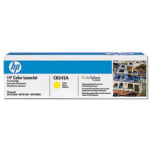 HP CB542A Toner Yellow Hewlett Packard