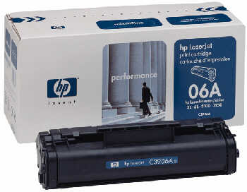 HP C3906A Toner Black Hewlett Packard