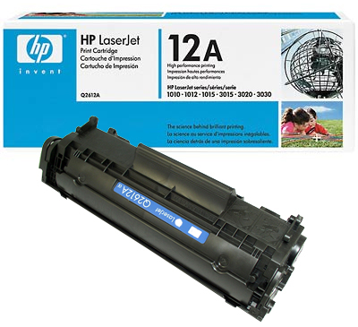 HP Q2612A Toner Black Hewlett Packard